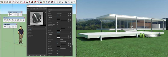 IL RENDERING CON V-RAY FOR SKETCHUP
